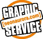 logo Graphic Service neonaurora